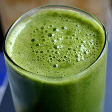 smoothie vert pour cicatrice acné