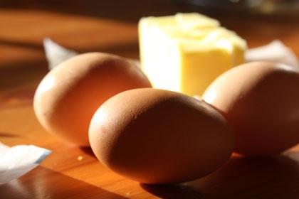 eggs-butter