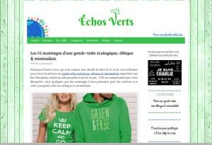 echos verts