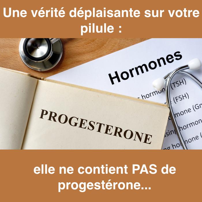 excès de progestérone effets